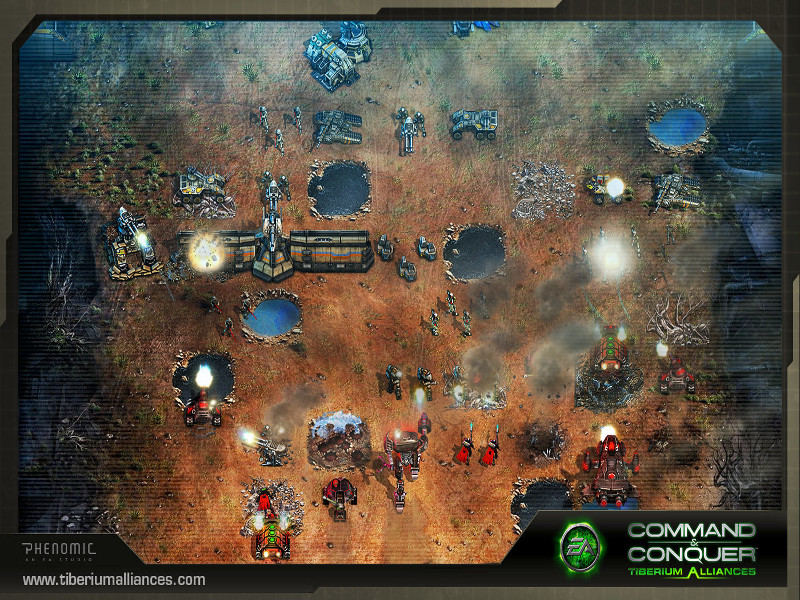 Command and conquer play online game